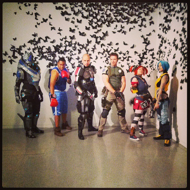 Cosplay from the The Art of Video Games exhibit at the Phoenix Art Museum
