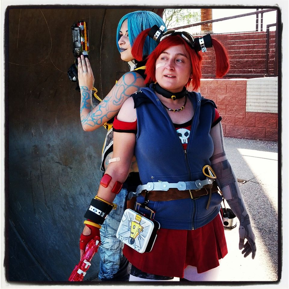 Cosplay of The Mechromancer from Borderlands 2