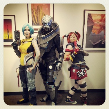 Cosplay from the Art of Video Games exhibit